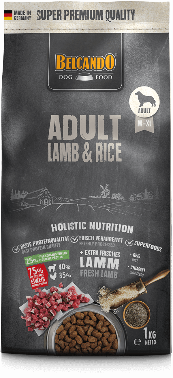 Belcando-Adult-Lamb-Rice-1kg-front